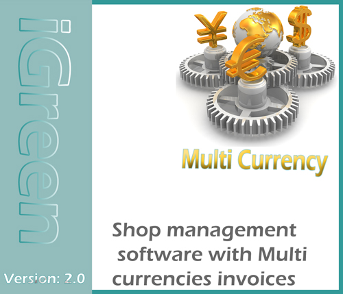 Multi currency slips by iGreen accounting