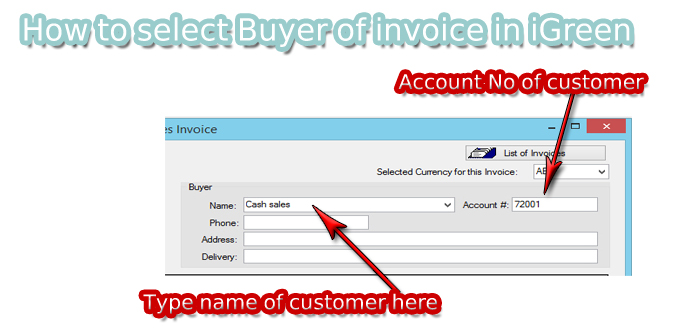 parts invoice