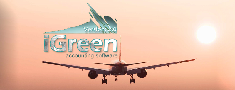 iGreen accounting software for travel agency